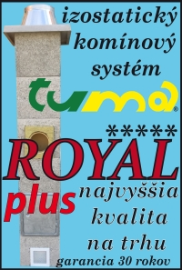 komíny TUMA ROYAL PLUS