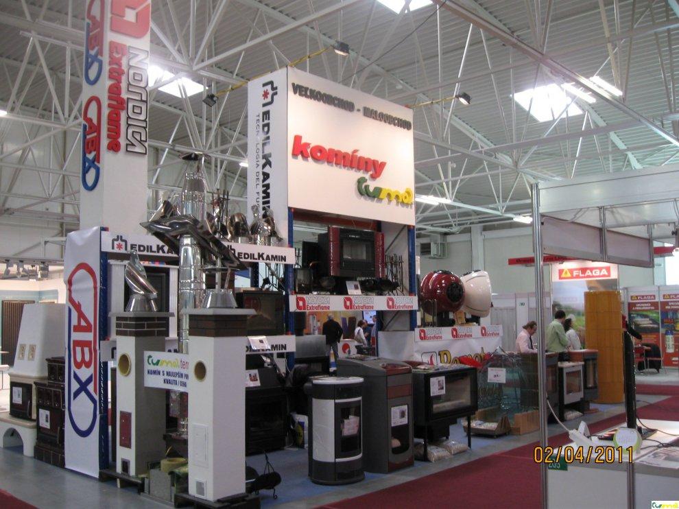 Výstava krby - komíny TUMA CONECO 2011